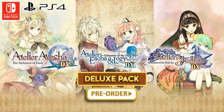 Trailer mới Atelier Dusk Trilogy Deluxe Pack cho Switch, PS4, PC