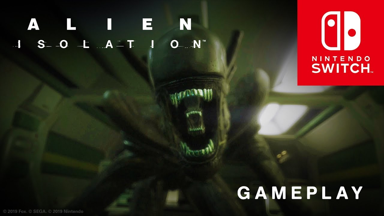 Trailer gameplay Alien: Isolation trên Nintendo Switch