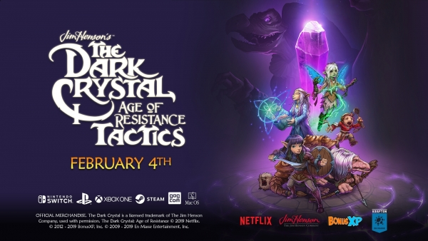 The Dark Crystal: Age of Resistance Tactics ra mắt cho PS4, Switch, Xbox One, PC vào 4 tháng 2 năm 2020