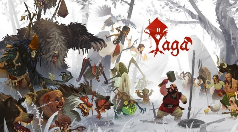 Action RPG Yaga thông báo cho PS4, Xbox One, Switch, PC, Apple Arcade