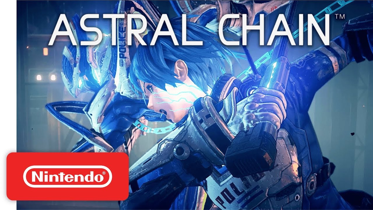 Trailer game Astral Chain cho NIntendo Switch