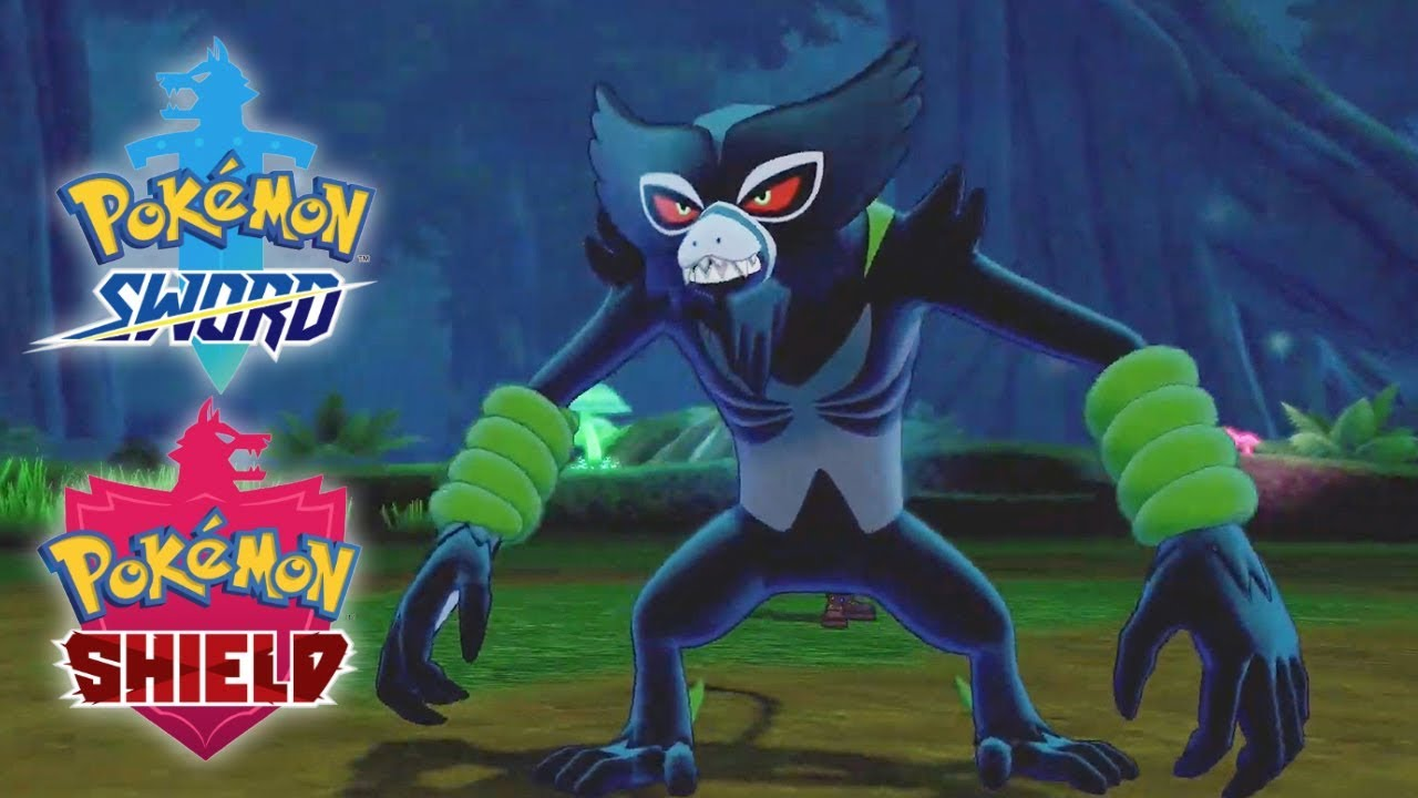 Pokemon Sword và Shield bổ sung Mythical Pokemon Zarude