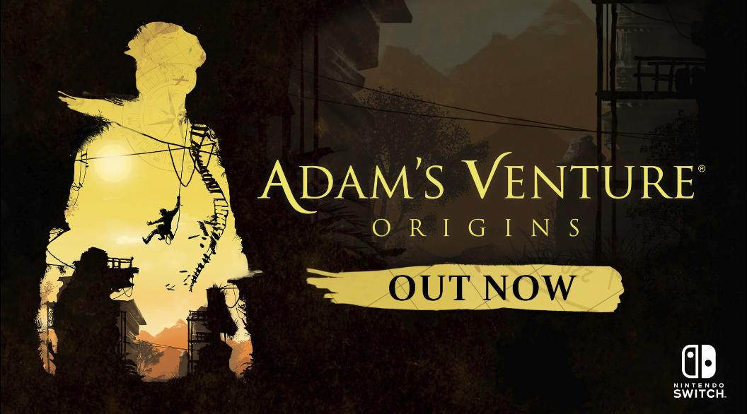 Adam's Venture: Origins officially released on Nintendo Switch