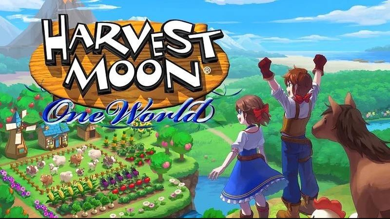 Trailer giới thiệu gameplay Harvest Moon: One World cho Switch, PS4