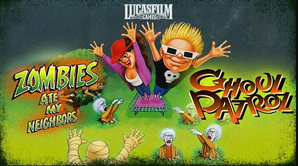 Lucasfilm Classic Games: Zombies Ate My Neighbors and Ghoul Patrol được công bố cho PS4, Xbox One, Switch và PC